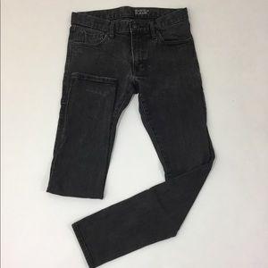 UNIQLO Dark Grey Skinny Jeans